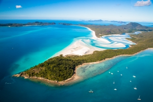 Cruising Whitsundays