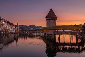 Golden Kapellbrücke